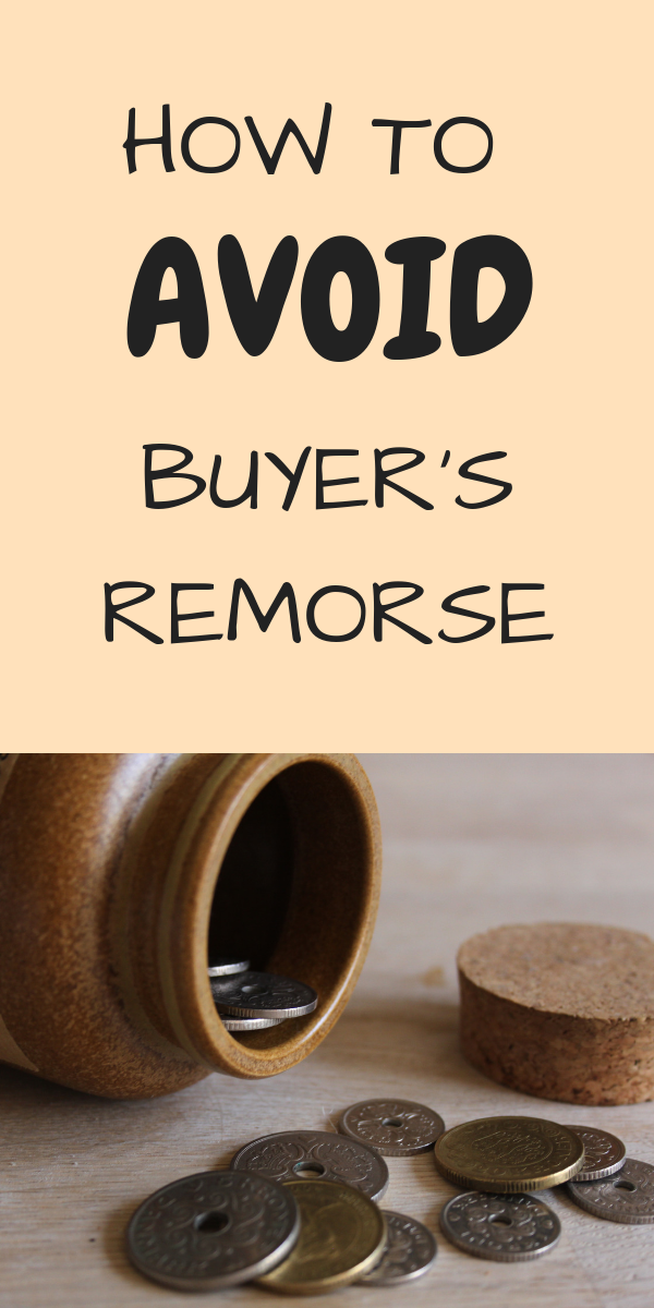 avoid buyer's remorse by using the p/hop method
