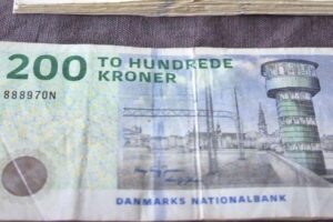 Danish Currency 200 bills