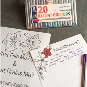 Discovering What Fills You Up & What Drains You – A Simple Journaling Exercise