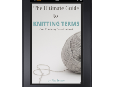 The Ultimate Guide To Knitting Terms