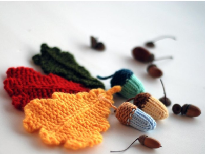 9 Fall Decor Knitting Patterns